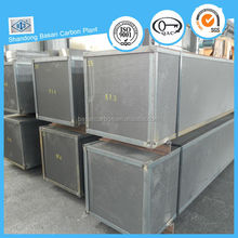 Good thermal conductivity graphite block for material load bearing