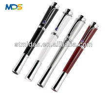 crystal on the clip gift metal Pen, Promotional luxurious roller pen,various colors pen
