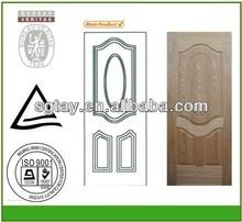 light color nature teak door skin/natural teak door skin