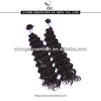 ZSY NEW FASHION STYLE wet and wavy bulk hair