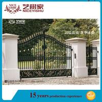 Used wrought iron door gates, wrought iron gate