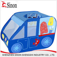 Cartoon pattern colorful Children animal playing kids play car tent