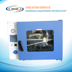 lithium battery equipments--Vacuum Drying Oven for Lithium battery production in Laboratory