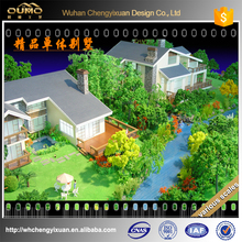 customized Architectural sand table model for real estate/3d rendering architectural building model