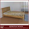 bedroom furniture- double solid oak wood bed