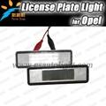 LED luz de placa para Astra F / Estado / Astra G / Corsa B / Omega AB / Zafira Un coche Led Número bombilla Placa para OPEL