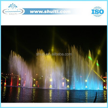 LED light and Dancing Musical Water Fountain High Jet Fountain