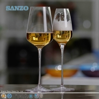 SANZO Hot sale crystal wine decanting made in china wine glass pitcher with handle