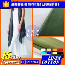 2015 Pop moda de algodón de lino tejido de punto miami ropa de marca
