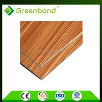 Greenbond interior wood wall cladding decorative panel with attractive price