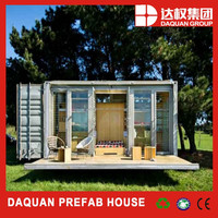 Promotion Price!!! sandwich panel 20ft prebuilt shipping container homes for sale used manufacturer