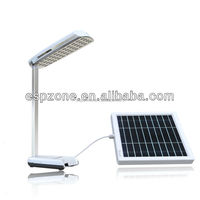Green Energy Saving High Power Table Solar Lamp With Phone Charger