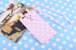 Lovely soft silicone High Protective back cover phone case for iphone 6
