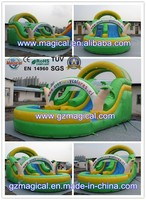 inflatable plastic water slide parts/ water slide clearance