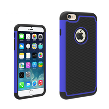 Facotry Wholesale Premium Rubber Dual Layer PC Silicone Phone Case for iPhone 6