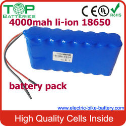 2S8P rechargeable 3.7V 4000mAh Li-Polymer battery pack