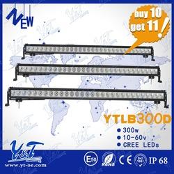 Hot sale most competitive price Led Light Bars300w c.r.e.e 24V led light bar55inch car roof top light bar