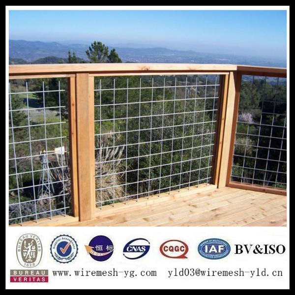 Welded wire mesh balcony fence iso
