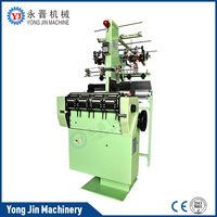 High efficiency hand braiding machine