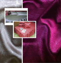 100% polyester woven printed satin fabric for quilt