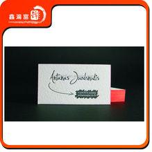 BJXHFJ Hot sell custom professional cotton name cards