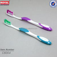 2015 small head adult toothbrush with 3D feel figure in individual packing toothbrush