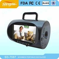 Wholesale 7 inch Portable boombox with TFT screen