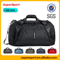2016 new arrival fashion travel duffle bag GYM bag with water resistant