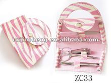 pink color beauty manicure set
