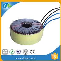 115v to 230v single phase voltage step up transformer