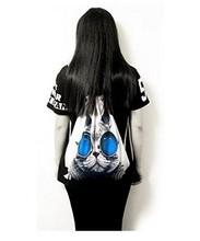 No mini order custom3D sublimation backpack school bag