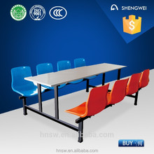 Professional plastic school desk and chair with great price