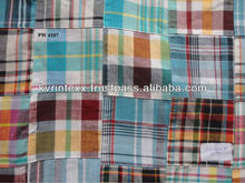 checked fabric for school uniform