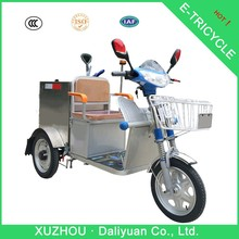 garbage solar electric tricycle for passenger battery for electric tricycle
