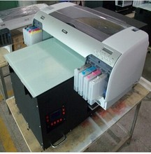 small A2 size flatbed printing machine, DTG direct to acrylic printing machine, pvc printer machine with professional RIP