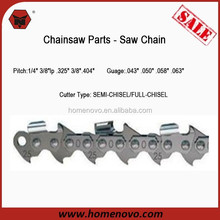 "Manufacturer High Quality 1/4"" 3/8""lp .325"" 3/8"".404"" Pitch .043"" .050"" .058"" .063"" Guage Chain Saw Roll Of Chain,Saw Chain"