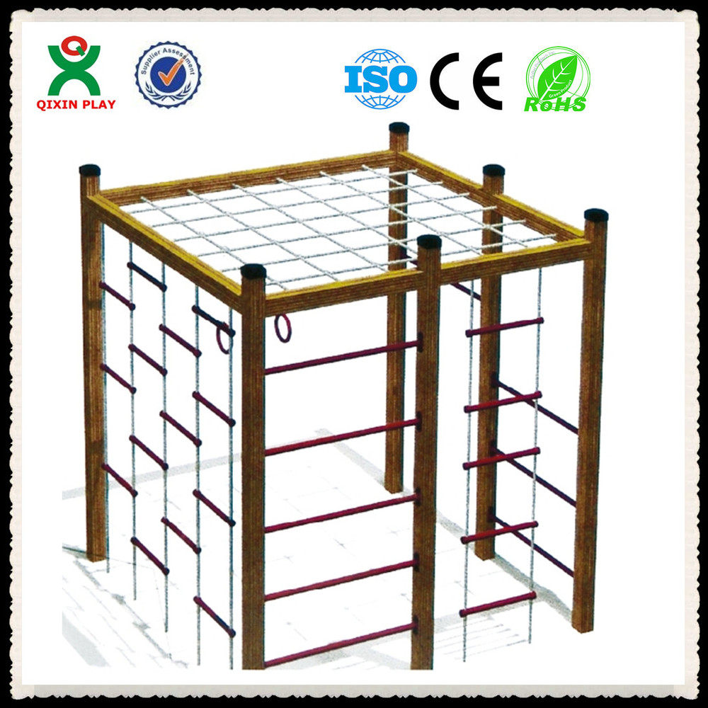 Wholesale indoor playground toddler wooden jungle gym for Wooden jungle gym plans