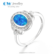 Distinctive Best Gift Fashion Women' Ring Pink Rainbow Mystic Topaz Opal 925 Sterling Silver Jewelry Ring