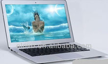 Chinese lowest cost 13.3 inch two core laptop manufacturer Android Netbook in shenzhen
