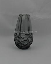 Unique style calabash shape colored glass vase