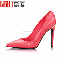 Latest Brand Name women's Fashion All Real Cow Leather Dress Shoes
