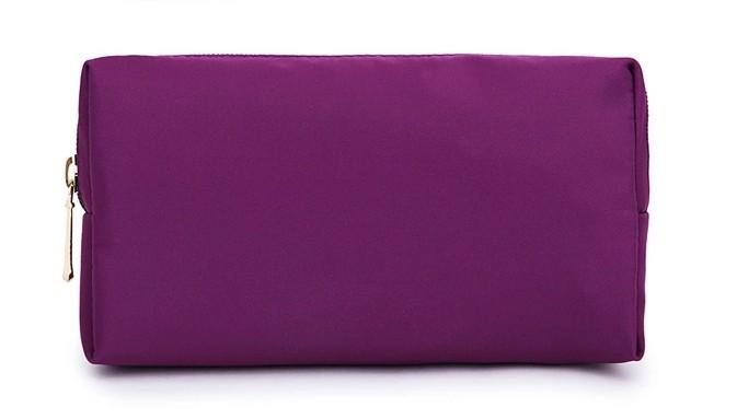 2015 personnalisé petite étanche pouch cosmétiques pour femmes