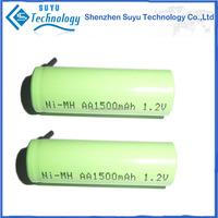 1000mAh 2400mAh 2600MAH 1.5v aa ni-mh rechargeable battery