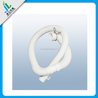 wholesale products China factory custom plastic flexible waste pipe, PVC wash basin drain pipe