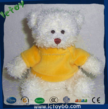 Hot sale lovely teddy bear with T shirt masha and the bear costume wholesale