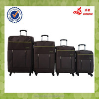 Idea New Design EVA Two Tone Fabric Alibaba China Factory Low Price High Quality Trolley Luggage Bag