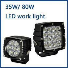 Auto lighting high-performance hot sale led work light 35w 80w