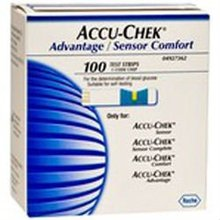 Accu-chek Sensor Comfort Glucose Testing Strips
