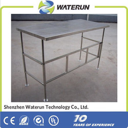 New type cleanroom stainless steel table , four-dimensional and combination type stainless steel table factory