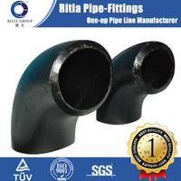 astm a106 gr.b carbon steel pipe fittings R=3D elbow